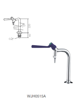 WJH0515A stainless steel lab faucet