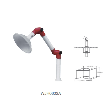 WJH0602A Lab Accessories Fume Extractor