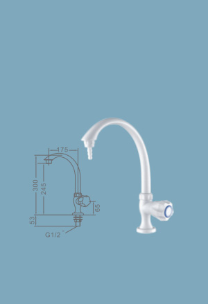 WJH0608B High Purity Laboratory Faucets