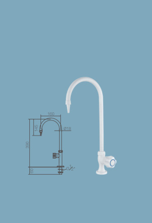 WJH0608D High Purity Laboratory Faucets