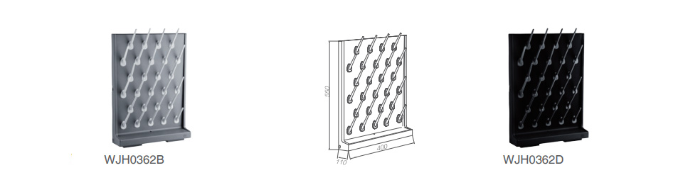 single-sided laboratory PP drying rack