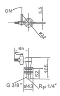 Lab Facilities Single Erect Gas Valve (WJH0801A)