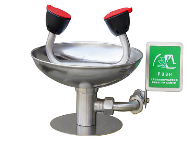 Tabletop-Mounted Eyewash