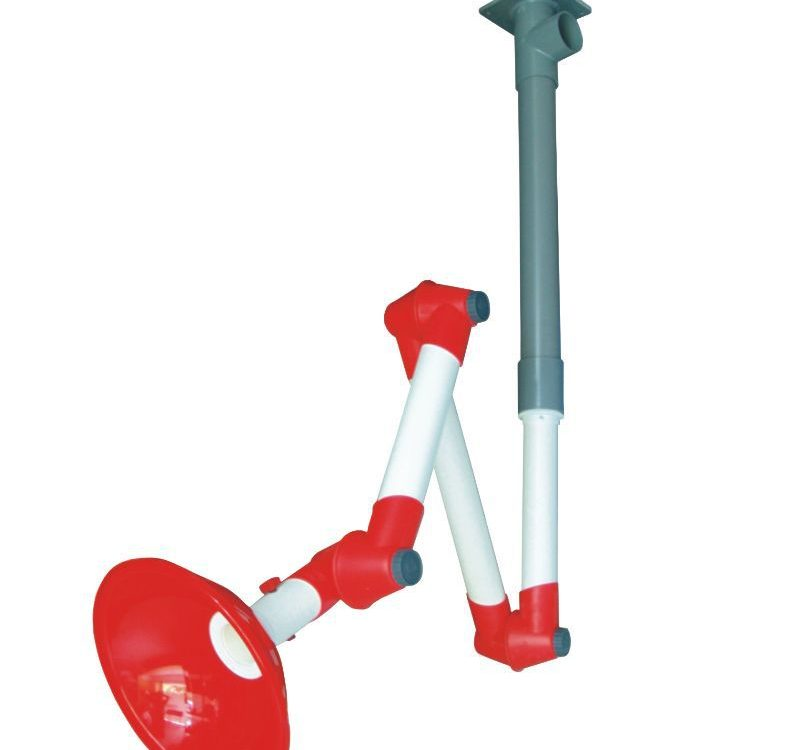 ceiling fume extraction arm/Laboratory Fume Exhaust/lab fittings